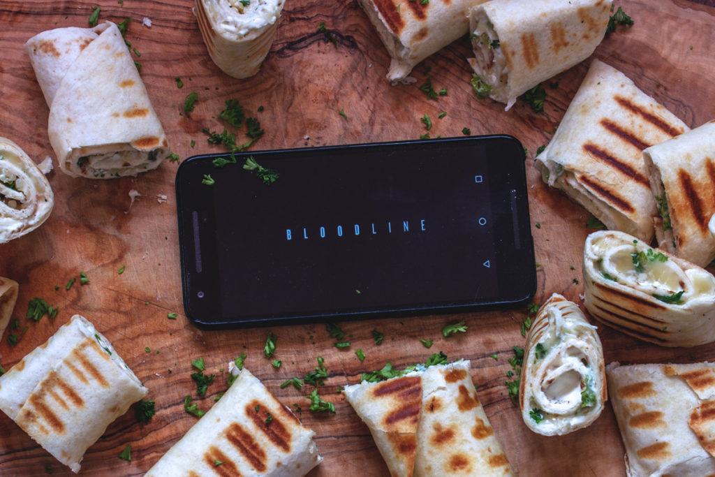 Binge Watching Snack: Bloodline Staffel 3 mit Mozzarella Wraps