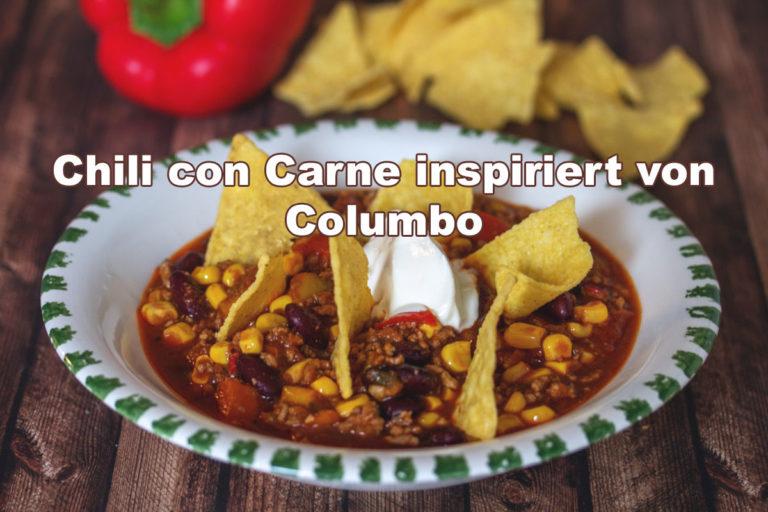 seriesly Delicious: Rezept für das Chili Con Carne aus der Serie Columbo