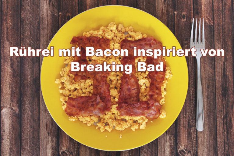 seriesly Delicious: Rezept - Walters Geburtstagsfrühstück - Rührei mit Bacon