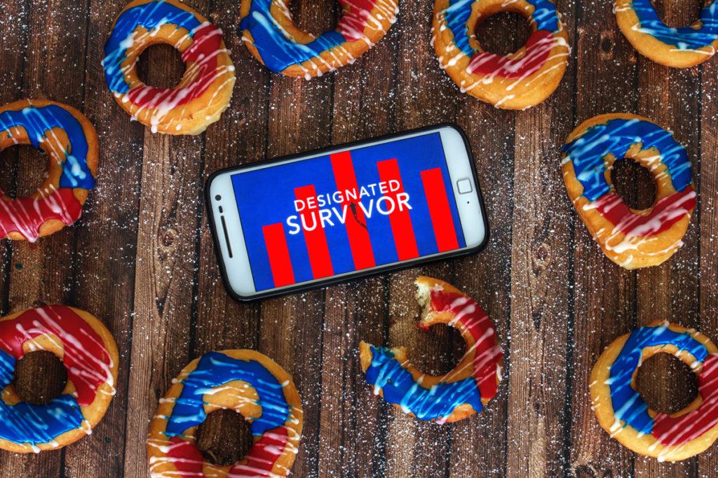 Rezept: American Donuts mit Zuckerglasur - Der Binge- Watching Snack für Designated Survivor Staffel 1