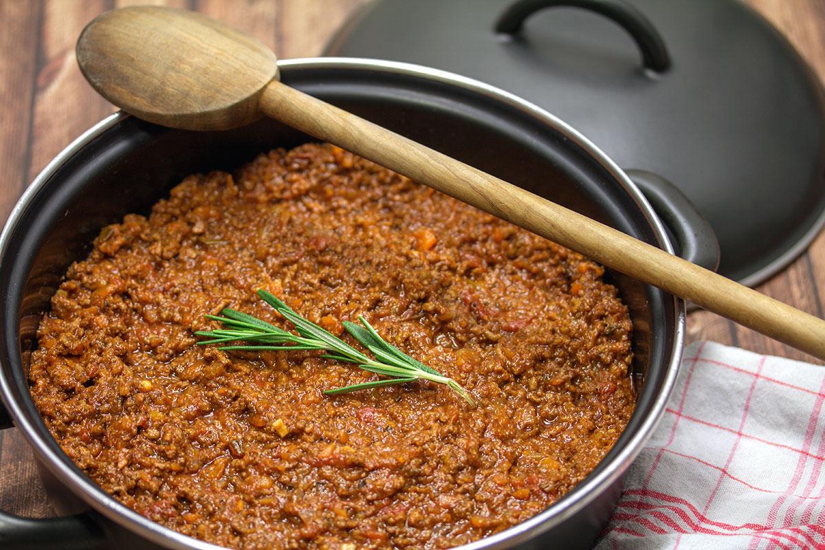 Rezept für Ragù alla bolognese
