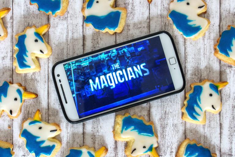 Rezept: Einhorn-Kekse. Der Binge-Watching Snack für The Magicians Staffel 1