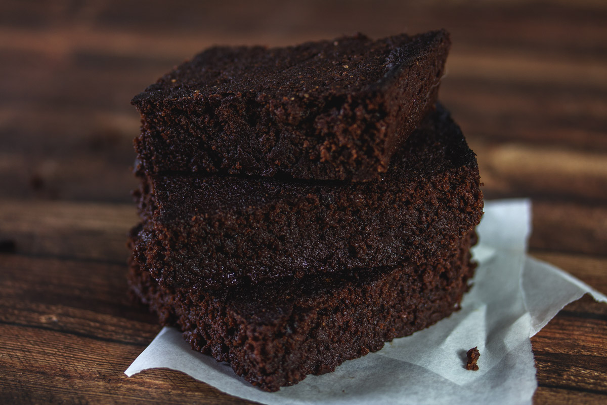 Rezept: Fudgy Dark Chocolate Brownies