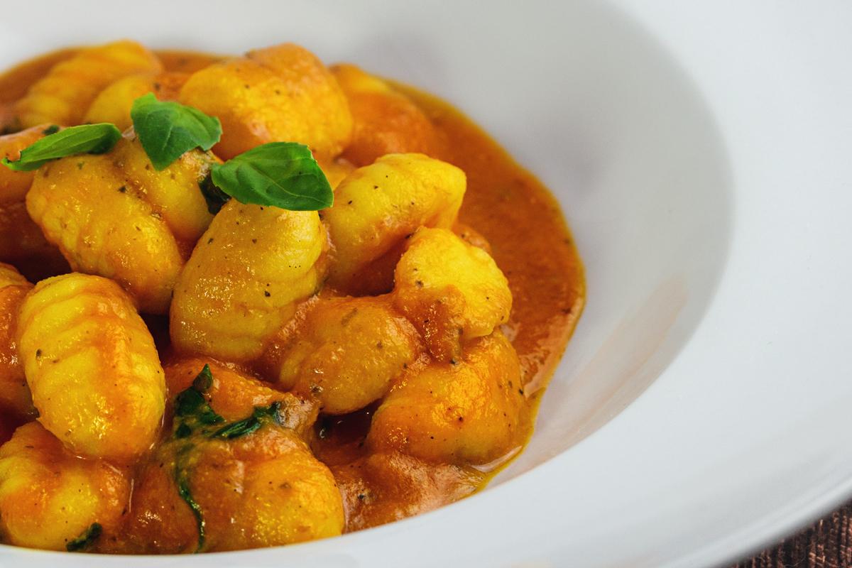 Rezept: Gnocchi in Tomaten-Mozzarella Soße